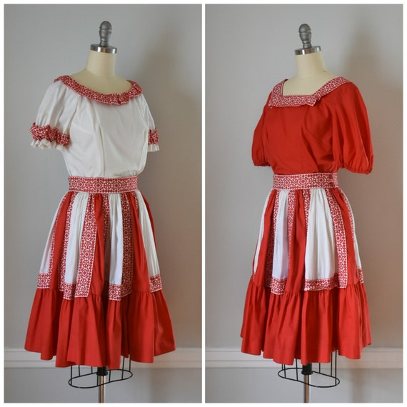 Vintage Patio Skirt and Blouses - image 2