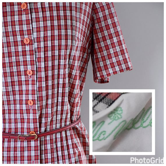 Vintage 60s Skirt and Blouse - image 5