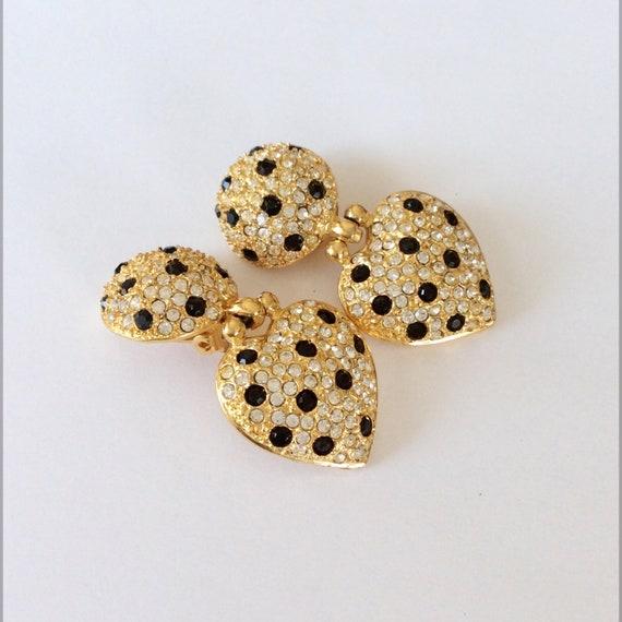 Vintage Joan Rivers Earrings - image 3