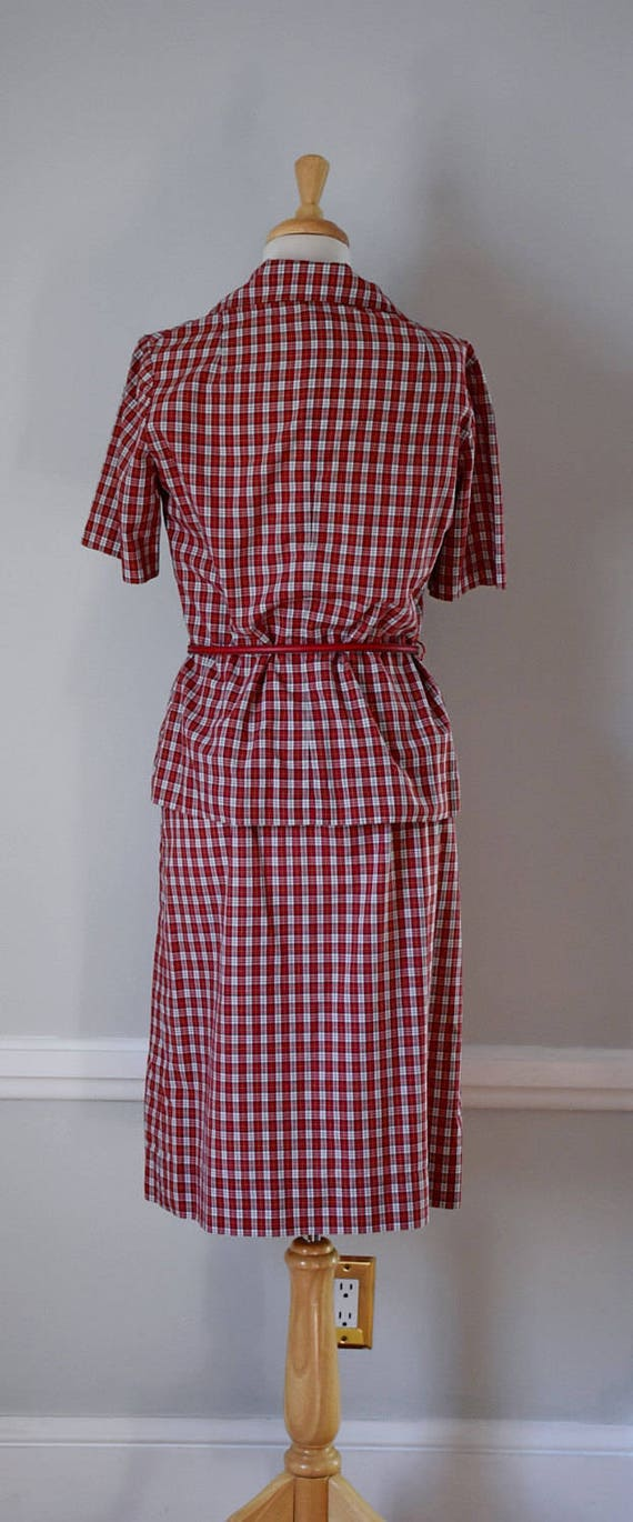 Vintage 60s Skirt and Blouse - image 4