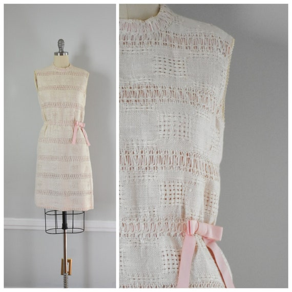 60s Vintage Anne Fogarty Knit Dress