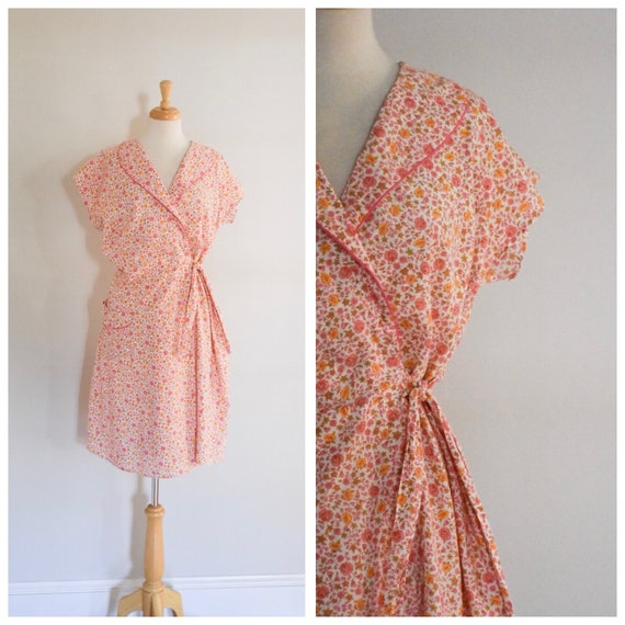 1940s Vintage Wrap Dress