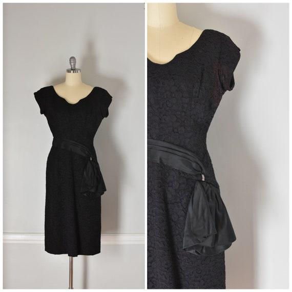50s Lace Sheath Dress