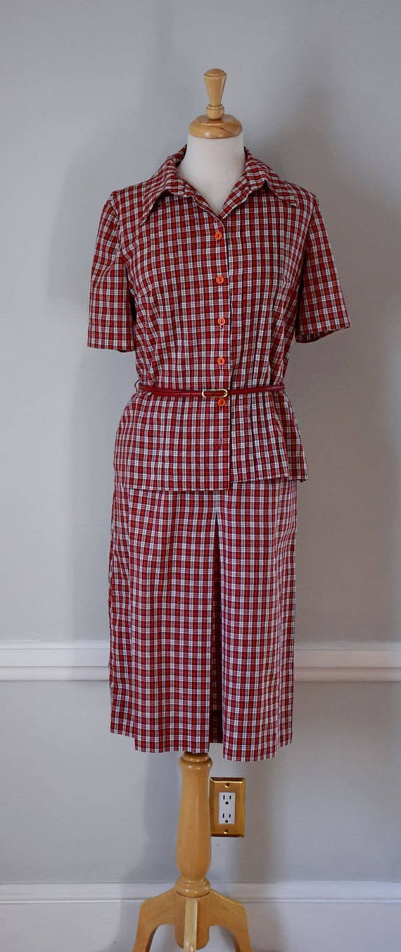 Vintage 60s Skirt and Blouse - image 2