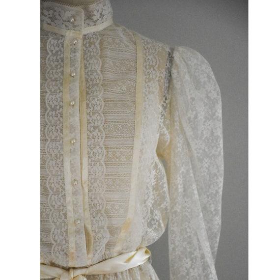 Vintage Lace Gunne Sax Dress - image 8