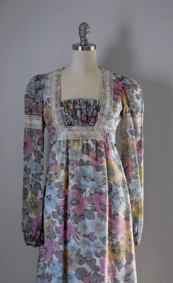 Vintage 70s Prairie Dress - image 7