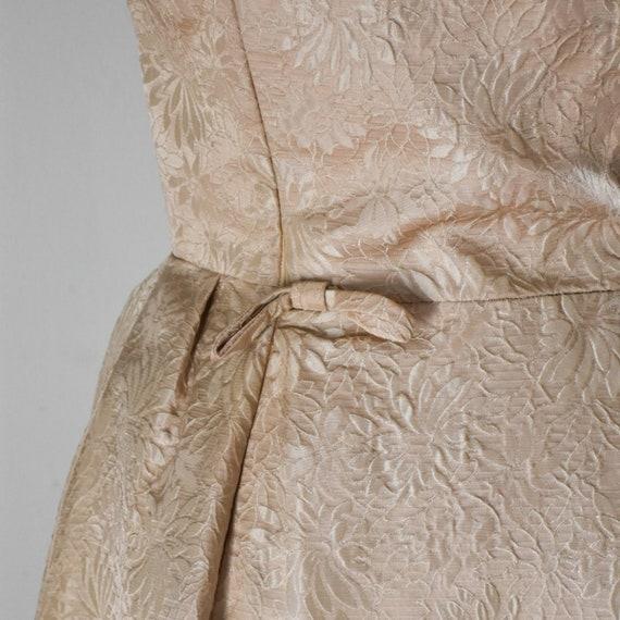50s / 60s Vintage Brocade Dress - image 7