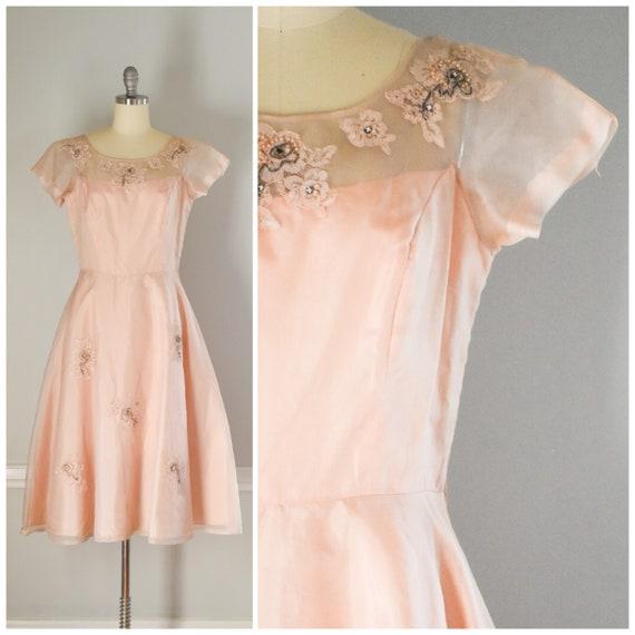 50s Vintage Tulle Dress