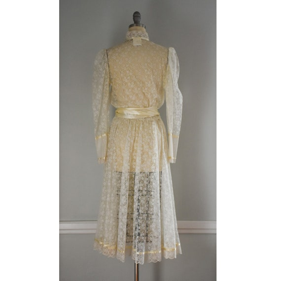 Vintage Lace Gunne Sax Dress - image 6