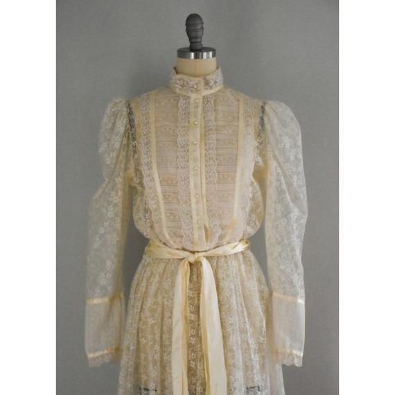 Vintage Lace Gunne Sax Dress - image 7