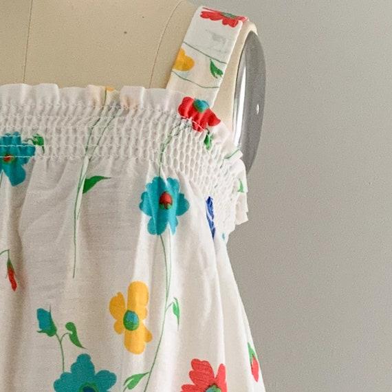 Vintage Floral Sundress - image 8