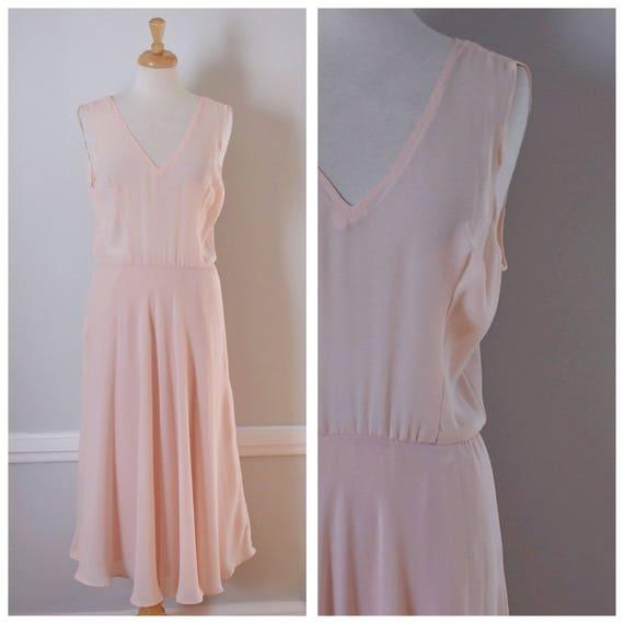 Vintage 80s Miss Elliette Sheer Dress