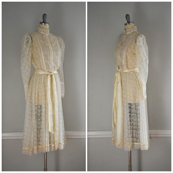 Vintage Lace Gunne Sax Dress - image 2