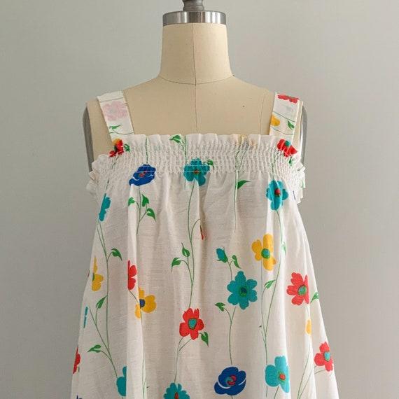 Vintage Floral Sundress - image 7