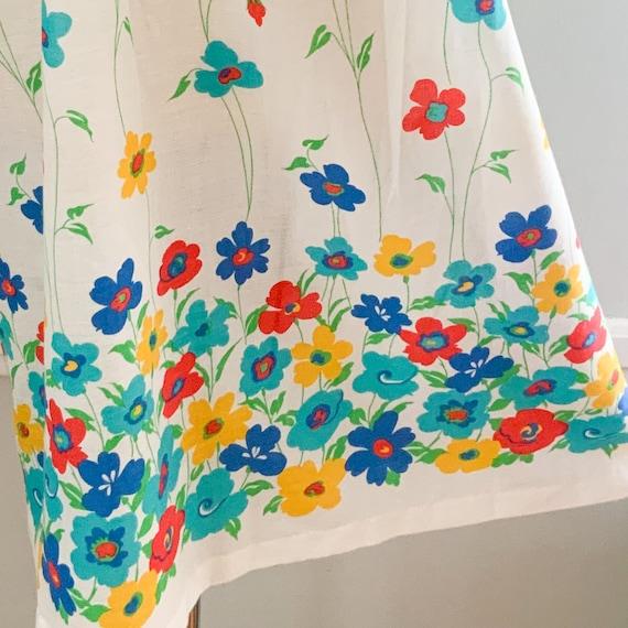 Vintage Floral Sundress - image 9