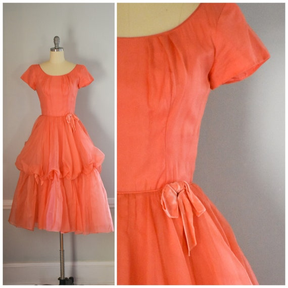 50s Tulle Fit and Flare Dress