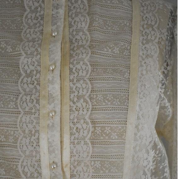 Vintage Lace Gunne Sax Dress - image 9