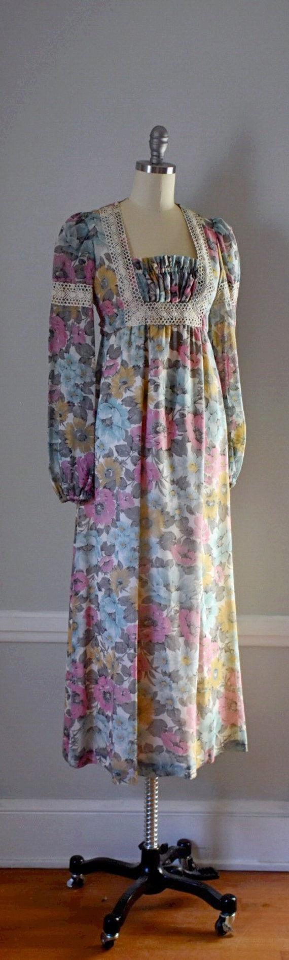 Vintage 70s Prairie Dress - image 5