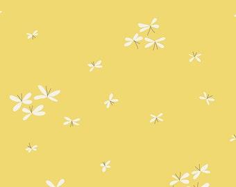 Curiosities Firefly Jar in Glow, Jeni Baker, Art Gallery Fabrics, 100% Premium Cotton Fabric, CUR-29131