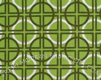 Half Yard Circle Quadrant in Grass, Metro Living, Robert Kaufman