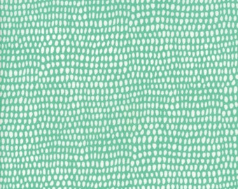 Big Sky Dot in Azure,  Annie Brady, 100% Cotton, Moda Fabrics, 16706 14