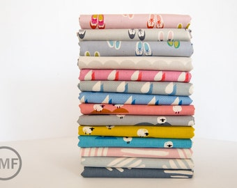 Panorama Fat Quarter Bundle, 14 Pieces, Cotton+Steel, RJR Fabrics, 100% Cotton Fabric, 5999