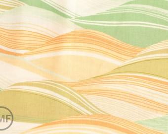 Half Yard Chirp Chirp Fields in Dill, Momo, Moda Fabrics, 100% Cotton Fabric, 16082 16