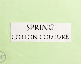 One Yard Spring Cotton Couture Solid Fabric from Michael Miller Fabrics, SC5333-SPRI-D