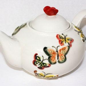 Candy Nut Dish Trinket Box with Lid Vintage Ceramic Lidded Iron