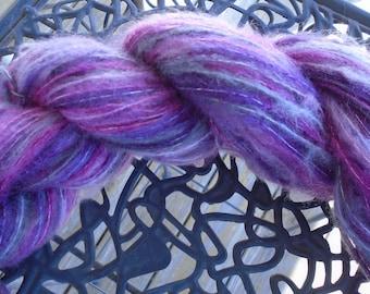 China Rose Dusty Pink Brunswick Yarns Windmist Brushed Yarn - New