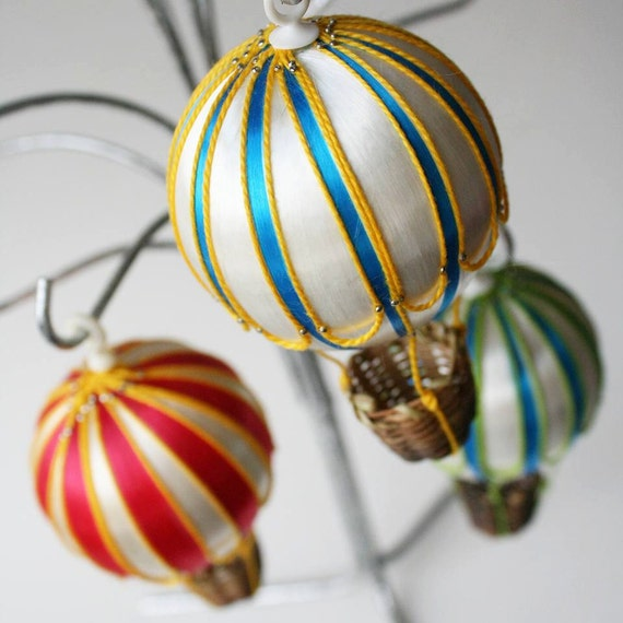 Darling Hot Air Balloon Ornaments