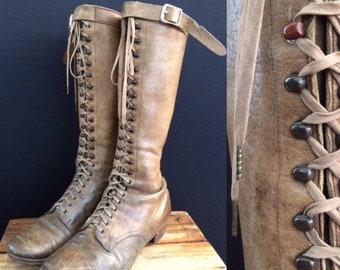7fe6fa2c60d Prairie boots | Etsy
