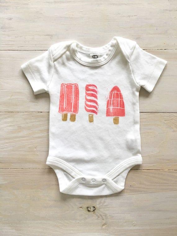 c36710db06c1 popsicle organic baby clothes girl bodysuit newborn clothing
