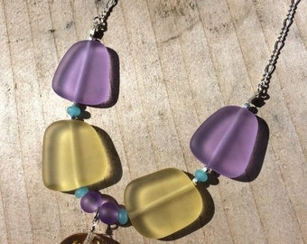 SALE - Sea Glass Necklace