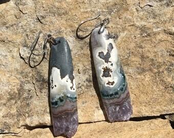 SALE - Amethyst Earrings
