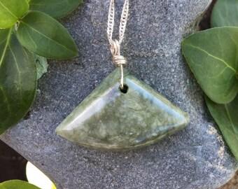 Northerner California Botryoidal Jade Necklace