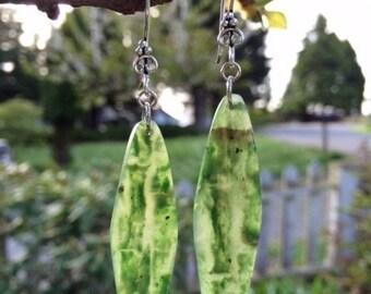 SALE - Yukon Jade Earrings