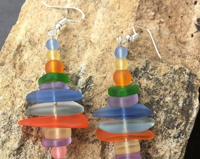 Featured listing image: SALE - Sea Glass Earrings