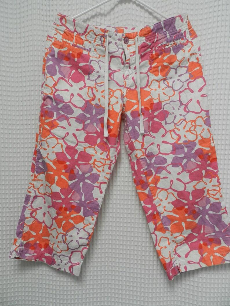 d28081ede7 Vintage Ocean Pacific Jams clamdigger shorts 3/4 pants Capris | Etsy