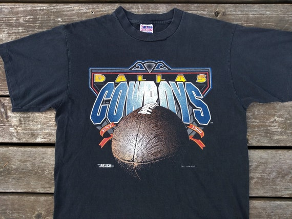 check out 6387c ae38a Dallas COWBOYS vintage T Shirt 90s NFL Football Emmitt Smith Troy Aikmen  Michael Irvin Trench XL single stitch 1994 Super Bowl sportswear