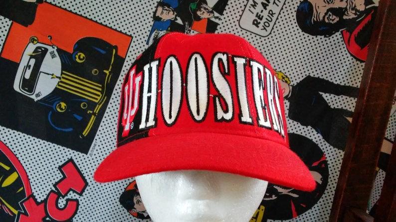 645357e2988 Indiana Hoosiers Snapback Hat Starter vintage 90 s spell