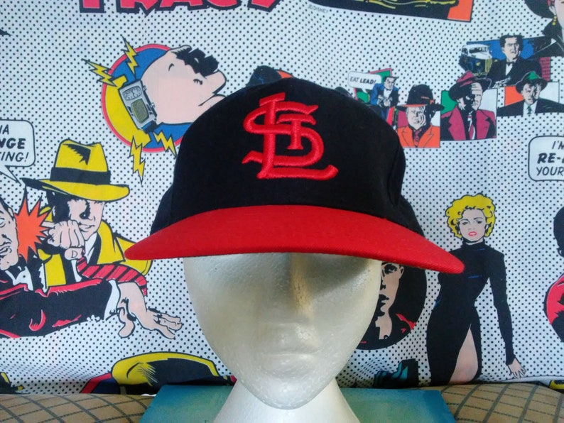 6c9063e8ba6 Vintage 70s St. Louis Cardinals Hat fitted 7 3 8 Roman