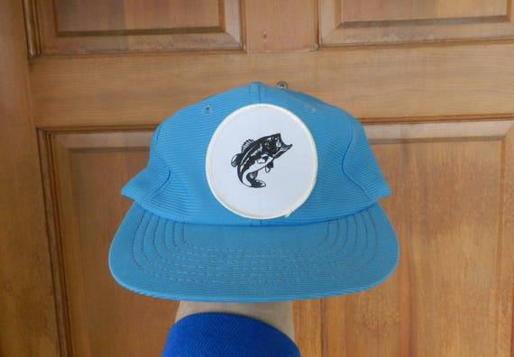 7e091c1c7998c vintage Fish Hat 70s 80s polyester mesh cap light carolina