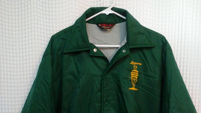 Longacres vintage Jacket 1970 s coaches lined windbreaker  b2eaca59f