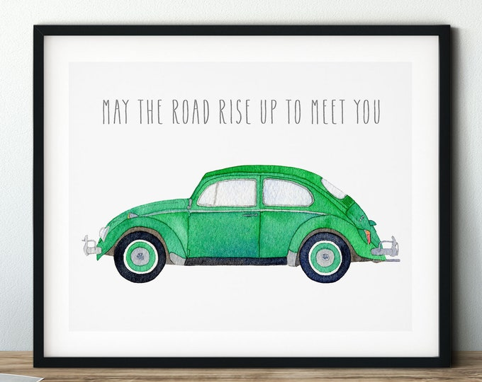 VW CAR PORTRAIT prints
