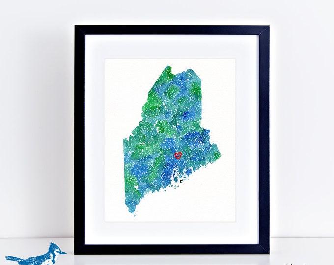 CUSTOM MAP ART originals