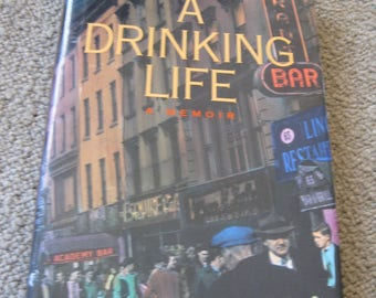Pete Hamill Signed Book A Drinking Life