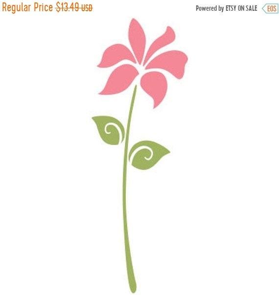 vente de fleurs aujourd 39 hui pochoir pour peindre les etsy. Black Bedroom Furniture Sets. Home Design Ideas