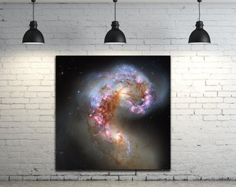 Stunning Space & Stars Sky Photo Galaxy Picture on Photo Paper, Matte paper or Stretched Canvas