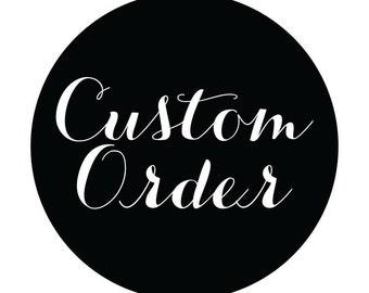 Custom order 8x13 format